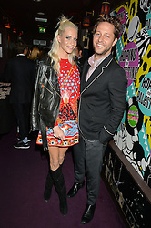 POPPY DELEVINGNE and DEREK BLASBERG at Hoping's Greatest Hits - the 10th Anniversary of The Hoping Foundation's charity benefit held at Ronnie Scott's, 47 Frith Street, Soho, London on 16th June 2016.