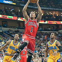 CHICAGO BULLS VS NEW ORLEANS HORNETS 02.12.2011