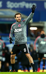 Juan Mata of Manchester United - Mandatory by-line: Robbie Stephenson/JMP - 01/01/2018 - FOOTBALL - Goodison Park - Liverpool, England - Everton v Manchester United - Premier League