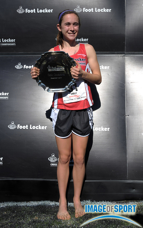 Dec 10, 2011; San Diego, CA, USA; Molly Seidel won the girls race in 17:22 in the 2011 Foot Locker cross country championships at Morley Field.