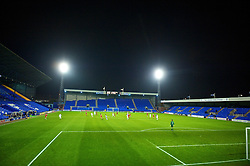 BIRKENHEAD, ENGLAND - Wednesday, October 21, 2009: Liverpool reserves take on Sunderland during the FA Premiership Reserves League (Northern Division) match at Prenton Park. (Photo by: David Rawcliffe/Propaganda)