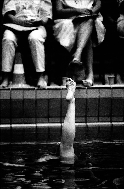 The Netherlands, Diemen, 00-00-00.<br /> Swimming, Synchronized Swimming.<br /> Photo : Klaas Jan van der Weij
