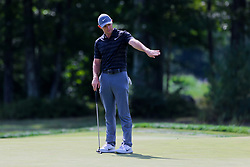 September 2, 2018 - Norton, Massachusetts, United States - Rory putts the 15th green during the third round of the Dell Technologies Championship. (Credit Image: © Debby Wong/ZUMA Wire)