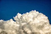 Close up of Cumulus mediocris clouds