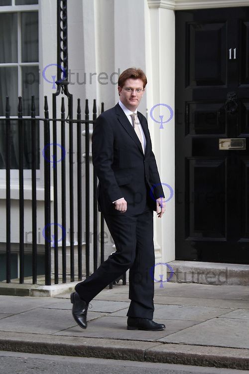 Chief Secretary to the Treasury Danny Alexander Cabinet Meeting Downing Street arrivals , London, UK, 23 March 2011:  Contact: Rich@Piqtured.com +44(0)7941 079620 (Picture by Richard Goldschmidt)