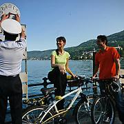 Lago Maggiore, imbarco traghetti a Baveno