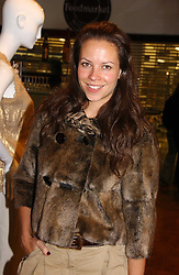 Stylist CHARLOTTE STOCKDALE at a party hosted by Elizabeth Saltzman and Harvey Nichols to celebrate the UK launch of New York fashion designer Tory Burch held at the Fifth Floor Restaurant, Harvey Nichols, Knightsbridge, London on 24th May 2006.<br /><br />NON EXCLUSIVE - WORLD RIGHTS