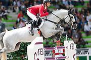 Ibrahim Bisharat - Emmanuel<br /> Alltech FEI World Equestrian Games™ 2014 - Normandy, France.<br /> © DigiShots