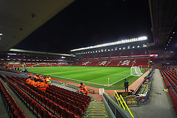 A general view of Anfield - Mandatory byline: Matt McNulty/JMP - 20/01/2016 - FOOTBALL - Anfield - Liverpool, England - Liverpool v Exeter City - FA Cup Third Round