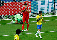Aleksandar Mitrovic (Serbia) after a missed goal<br /> Moscow 27-06-2018 Football FIFA World Cup Russia  2018 <br /> Serbia - Brazil / Serbia - Brasile<br /> Foto Matteo Ciambelli/Insidefoto