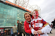 Wigan Warriors fans prior to the the Betfred Super League Grand Final match against Warrington Wolves at Old Trafford, Manchester.<br /> Picture by Michael Sedgwick/Focus Images Ltd +44 7900 363072<br /> 13/10/2018