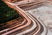 Cleared rainforest land for a cut mine outside of Munguba, along the Rio Jari, 50 miles north of Porto de Moz, Brazil.