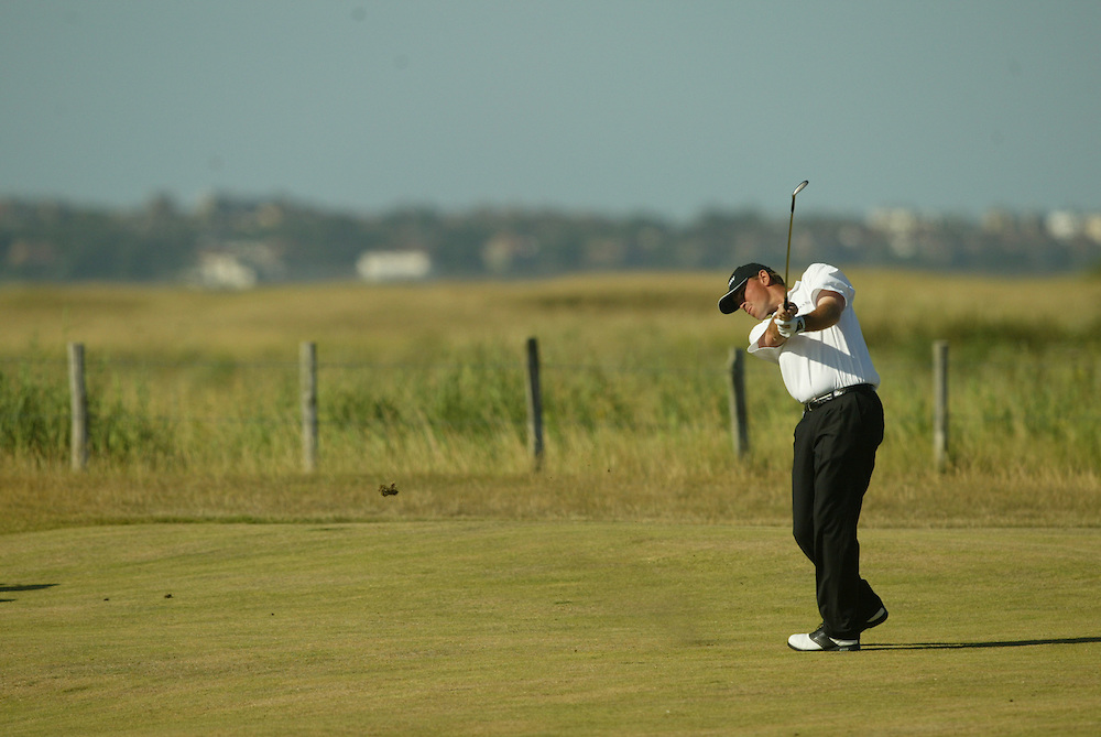 Thomas Bjorn..2003 British Open..Fourth Round..Royal St. George's Golf Club..Sandwich, Kent, England..Sunday, July 20  2003..photograph by Darren Carroll