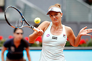 Irina-Camelia Begu during the Madrid Open at Manzanares Park Tennis Centre, Madrid<br /> Picture by EXPA Pictures/Focus Images Ltd 07814482222<br /> 05/05/2016<br /> ***UK &amp; IRELAND ONLY***<br /> EXPA-ESP-160505-0080.jpg