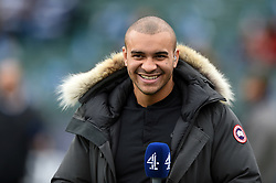 Jonathan Joseph of Bath Rugby looks on during the pre-match warm-up - Mandatory byline: Patrick Khachfe/JMP - 07966 386802 - 13/10/2018 - RUGBY UNION - The Recreation Ground - Bath, England - Bath Rugby v Toulouse - Heineken Champions Cup