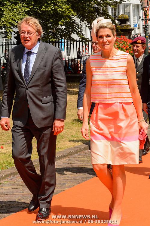 NLD/Den Haag/20150624 - Familiebedrijven Award 2015, aankomst Koninging Maxima