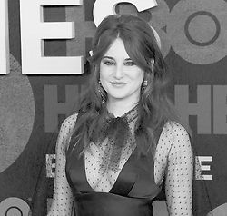 May 29, 2019 - New York, New York, United States - Shailene Woodley wearing dress by Dior Couture attends HBO Big Little Lies Season 2 Premiere at Jazz at Lincoln Center  (Credit Image: © Lev Radin/Pacific Press via ZUMA Wire)