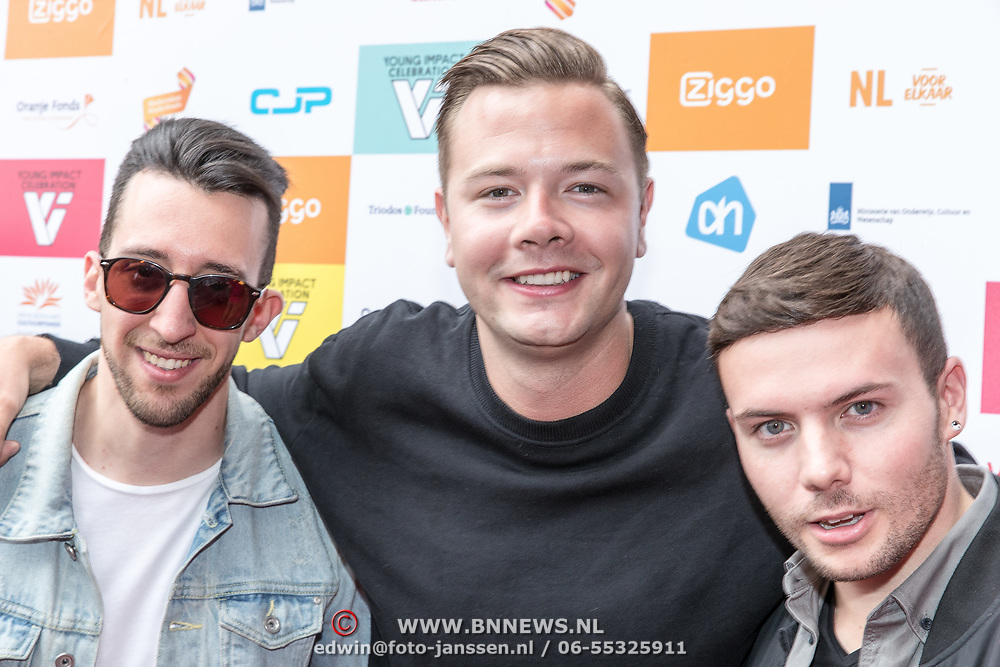 NLD/Amsterdam//20170530 - Young Impact Celebration 2017, Sam Feldt met Lush & Simon