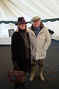 BARONESS BAMFORD; BARON BAMFORD, The Heythrop Hunt Point to Point. Cocklebarrow. 24 January 2016