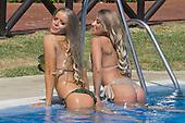 EXCLUSIVE Ex on the beach star Megan Clark and Sophie Whitaker Bikini in Marbella
