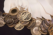 Scenes from Scholar Banquet at the Westin Oaks, May 23, 2013, in Houston. Valedictorian medals.