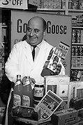 16/11/1964<br /> 11/16/1964<br /> 16 November 1964<br /> <br /> Mr. Martin at Martis Cash Stores in Doneybrook