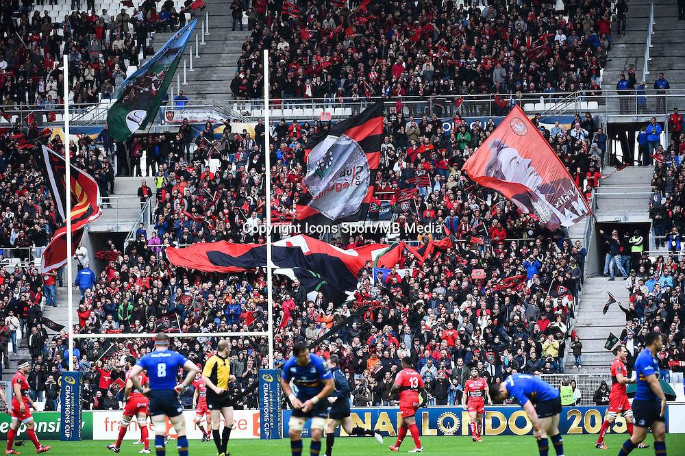Supporters Toulon - 19.04.2015 - Toulon / Leinster - 1/2Finale European Champions Cup -Marseille<br /> Photo : Andre Delon / Icon Sport