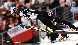 ZAKOPANE 29/01/2006..SKI JUMPING WORLD CUP ZAKOPANE..PUCHAR SWIATA W SKOKACH ZAKOPANE 2006..NA ZDJ.PRIMOZ PETERKA  /SLO/..FOT. PIOTR HAWALEJ / WROFOTO
