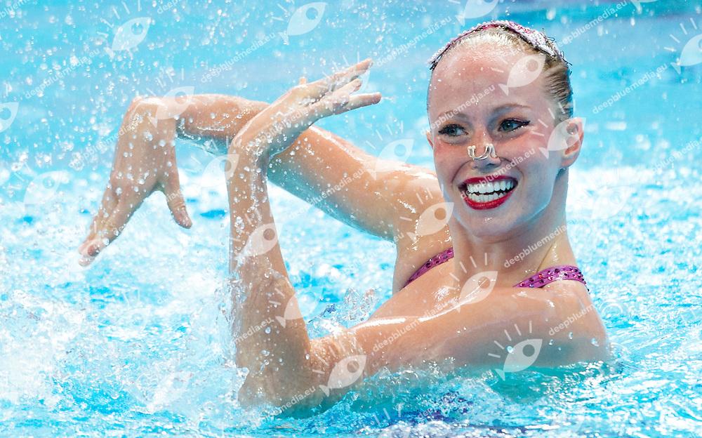 CAN Canada<br /> SIMONEAU Jacqueline<br /> Solo Free Preliminary<br /> Day4 27/07/2015<br /> XVI FINA World Championships Aquatics<br /> Synchro<br /> Kazan Tatarstan RUS July 24 - Aug. 9 2015 <br /> Photo Pasquale Mesiano/Deepbluemedia/Insidefoto