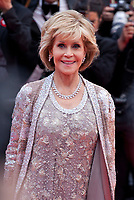 Actress Jane Fonda at the Blackkklansman (Black Klansman) gala screening at the 71st Cannes Film Festival, Monday 14th May 2018, Cannes, France. Photo credit: Doreen Kennedy