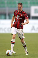 AC Milan's Italian defender Andrea Conti during the Serie A match at Giuseppe Meazza, Milan. Picture date: 28th June 2020. Picture credit should read: Jonathan Moscrop/Sportimage