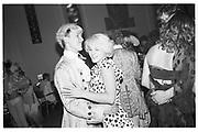 Charlie Hall and Janet Aston, Piers Gaveston Ball, Park Lane Hotel 13.05.83© Copyright Photograph by Dafydd Jones 66 Stockwell Park Rd. London SW9 0DA Tel 020 7733 0108 www.dafjones.com