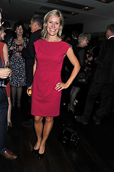 SOPHIE RAWORTH at a party to relaunch the Met Bar at 19 Old Park Lane, London W1 on 5th October 2011.