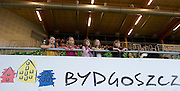 Supporters - children from Racot during indoor athletics meeting Pedro's Cup 2013 at Luczniczka Hall in Bydgoszcz, Poland...Poland, Bydgoszcz, February 12, 2013..Picture also available in RAW (NEF) or TIFF format on special request...For editorial use only. Any commercial or promotional use requires permission...Photo by © Adam Nurkiewicz / Mediasport