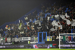 "Foto /Filippo Rubin<br /> 26/12/2018 Ferrara (Italia)<br /> Sport Calcio<br /> Spal - Udinese - Campionato di calcio Serie A 2018/2019 - Stadio ""Paolo Mazza""<br /> Nella foto: I TIFOSI DELL'UDINESE<br /> <br /> Photo /Filippo Rubin<br /> December 26, 2018 Ferrara (Italy)<br /> Sport Soccer<br /> Spal vs Udinese - Italian Football Championship League A 2018/2019 - ""Paolo Mazza"" Stadium <br /> In the pic: UDINESE SUPPORTERS"
