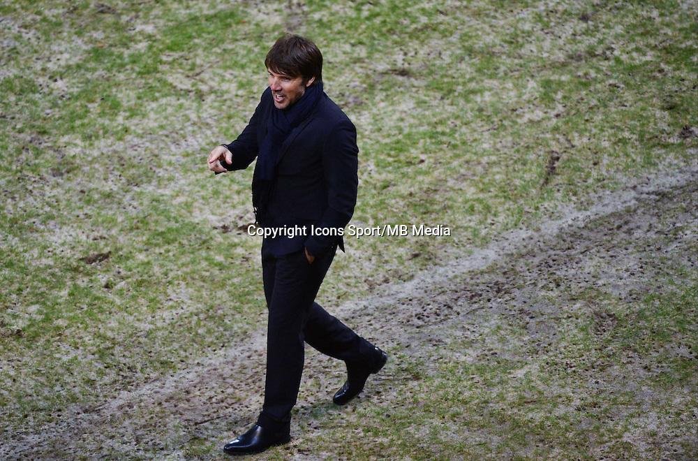 Jean Luc VASSEUR   - 10.01.2015 - Reims / Saint Etienne - 20eme journee de Ligue 1<br />Photo : Dave Winter / Icon Sport