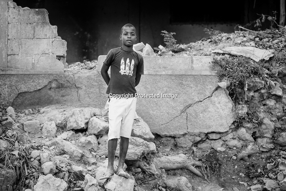 Young Haitian Boy, Port-de-Prince, Haiti, 2013