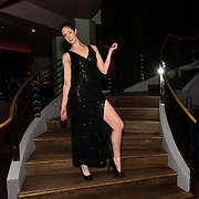 Sophie Levine is a actress, singer and model attend the Luxury Fashion Networking hosts at IC Show with X Factor Singers Fashio9n Show ahead of LFW Winter 2019 with amazing crowded at the heart of Soho, London, UK. 11 Feb 2019.