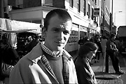 Neville, Camden Market, London, UK, 1980s.