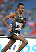 Selemon Barega (ETH) wins the 3,000m in 7:37.53 during the 57th Ostrava Golden Spike track and field meeting in a IAAF World Challenge event at Mestsky Stadium in Ostrava, Czech Republic, Wednesday, June 13, 2018. (Jiro Mochizuki/Image of Sport)