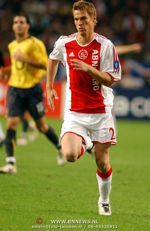 NLD/Amsterdam/20050927 - Champions League 2005, Ajax - Arsenal, Markus Rosenberg