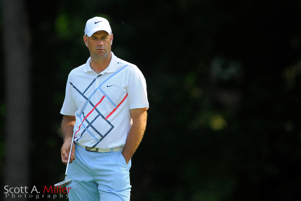 Stewart Cink during the first round of the AT&T National at Congressional Country Club on June 28, 2012 in Bethesda, Maryland. ..©2012 Scott A. Miller
