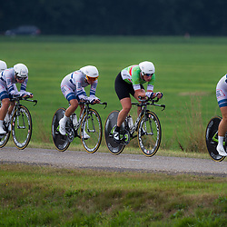 Boels Rental Ladies Tour Coevorden TTT 8th Team Argos Shimano  Amy Pieters, Kirsten Wild, Esra Tromp, Janneke Busser, Willeke Knol, Elke Gebhart