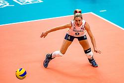 03-10-2018 JPN: World Championship Volleyball Women day 6, Yokohama<br /> Netherlands - Mexico 3-0 / Maret Balkestein-Grothues #6 of Netherlands