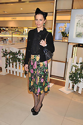 LAURA BAILEY at the launch of the new John Lewis Beauty Hall, John Lewis, Oxford Street, London on 8th May 2012.