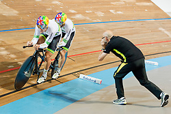 FORMSTON Matt Pilot:  CURRAN Michael, AUS, Tandem 4km Pursuit Qualifiers , 2015 UCI Para-Cycling Track World Championships, Apeldoorn, Netherlands