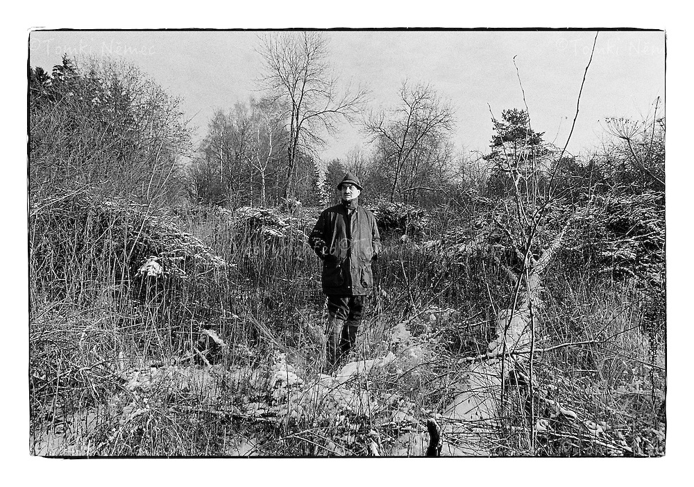 *En_Cechoslovakia, 1991, Lany -  K.Schwarzenberg on the  hunt  in Lany district                            *Cz_K. Schwarzenberg na honu v Lanech