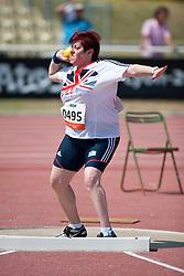 JONES Beverley, GBR, Shot Put, F37, 2013 IPC Athletics World Championships, Lyon, France