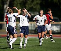 Fotball, 26. juli 2005, U21 damer, Åpent nordisk mesterskap, finale, Norge- USA 1-4,  Lori Chalupny, USA