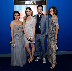 Edinburgh International Film Festival 2019<br /> <br /> H0us3 (International Premiere)<br /> <br /> Stars arrive on the red carpet for the international premiere<br /> <br /> Pictured: Cristina Raya, Mariona Tena, Ruben Serrano and Miriam Tortosa<br /> <br /> Alex Todd | Edinburgh Elite media
